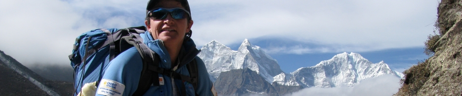 TA treks into Everest Base Camp