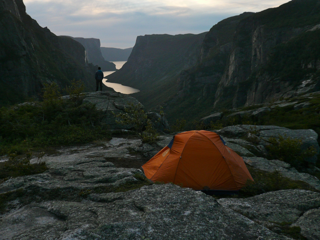 Camping in Gros Morne