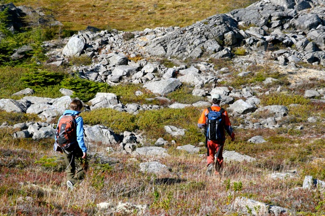 Hiking the Tilton Barrens
