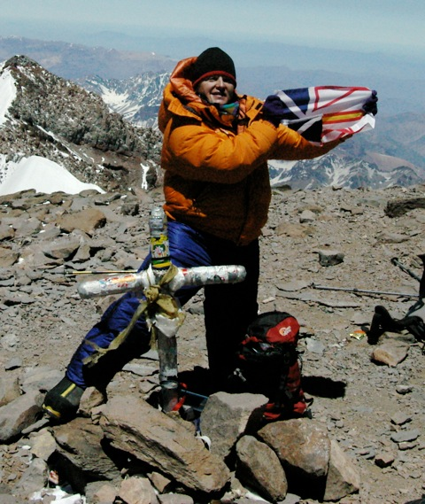 December 28, 2006  Summit of Aconcagua  Highest Point in South America