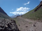 Looking Back to Aconcagua