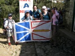 Newfoundland trekkers starting the jounrey into Everest basecamp