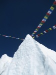 Prayer Flags in the Icefall