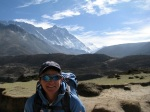TA trekking near Pheriche, Nepal
