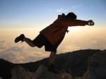 Velma the Vanilla Dip Climbs Central America's Highest Peak