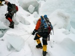 Making way throug the Icefall