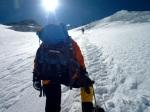 TA climbs the Lhotse Face towards Camp Three