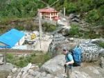 Trekking into Everest Basecamp