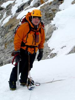 TA Climbing On Pumori