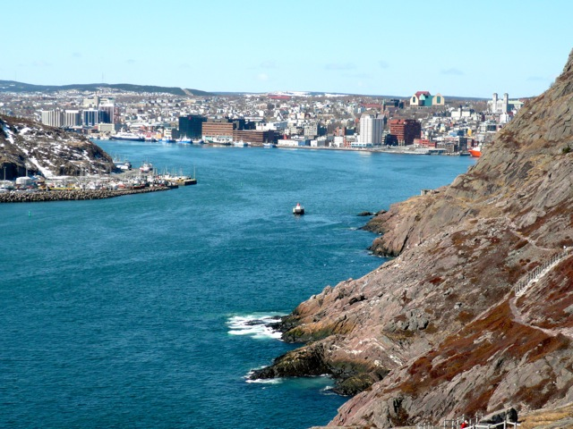 View of St. John's from North Head Trail