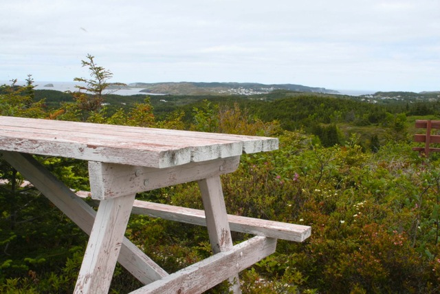 One of the views from the Top of Twillingate