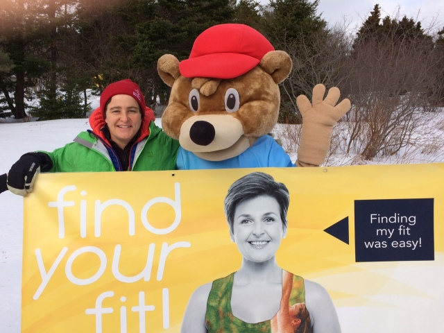 Happy Find Your Fit Friday to ALL! TA is the ambassador for Recreation Newfoundland and Labrador's Find Your Fit Campaign. How You Found Your Fit this week?