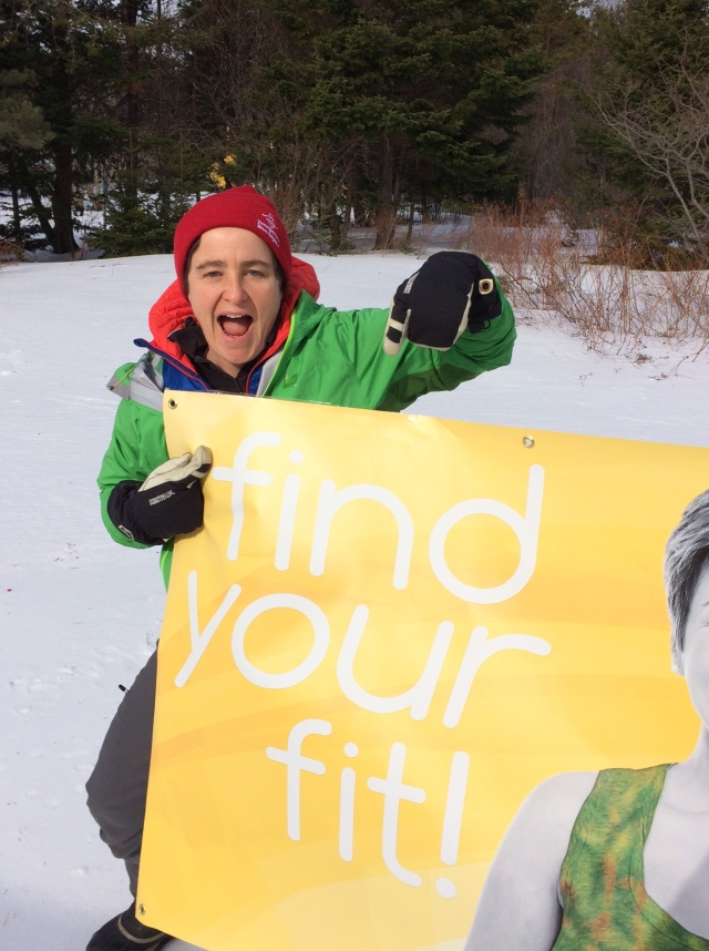 Happy Find Your Fit Friday to ALL! TA is the ambassador for Recreation Newfoundland and Labrador's Find Your Fit Campaign. How are you finding your fit?